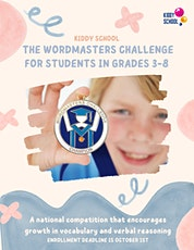 English Language Arts virtual class-prepare for a national contest tickets