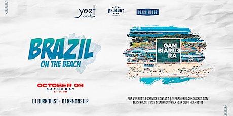 BRAZIL ON THE BEACH boletos