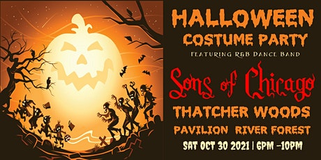 Halloween Costume Party Thatcher Woods with Sons of Chicago R&B Dance Band tickets