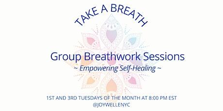 Take A Breath: 60 Min Group Breathwork Session tickets