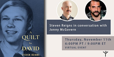 Steven Reigns in conversation with Jonny McGovern tickets