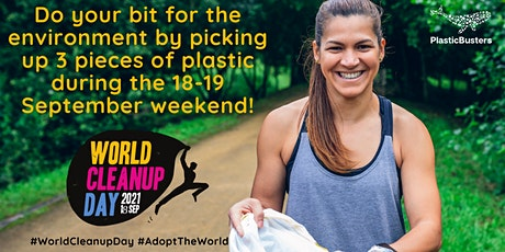 Let's Celebrate World Cleanup Day! tickets