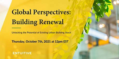 Global Perspectives: Building Renewal tickets