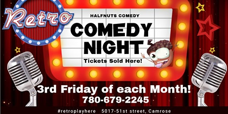 Live Comedy in Camrose OCT 15th tickets