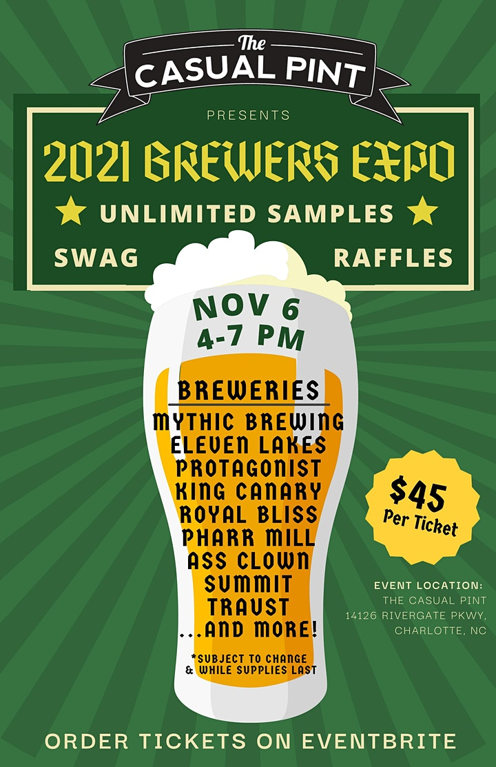 The Casual Pint Brewer's Expo 2021 image