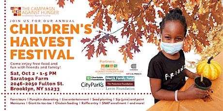 Children's Harvest Festival - Saratoga Farm tickets