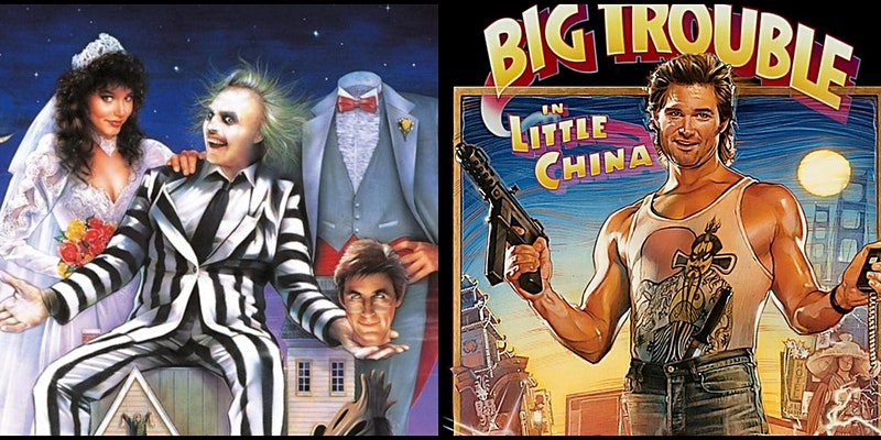 """""""Beetlejuice"""" and """"Big Trouble in Little China"""" Double Feature"""