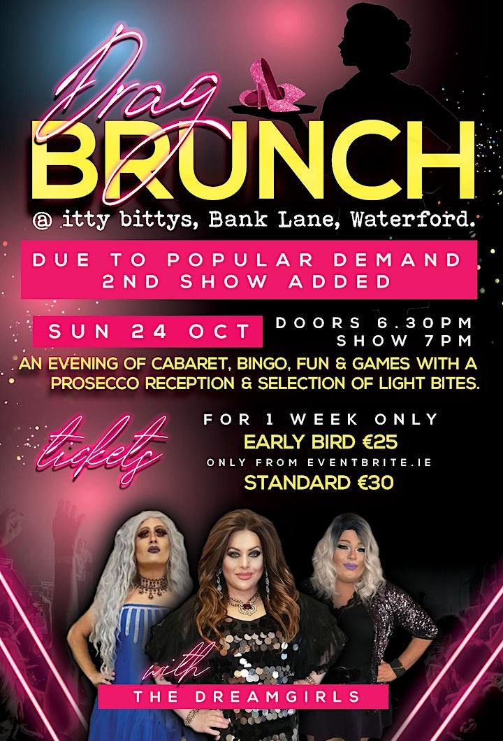Drag Queen Brunch October weekend Sunday 24th October image