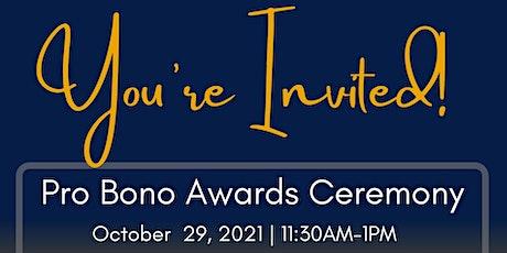 CLSMF Pro Bono Awards Ceremony 2021 tickets