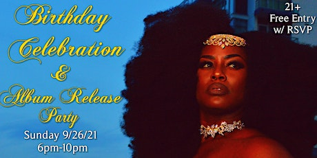 Queen Yaa's Birthday and Album Release Party tickets