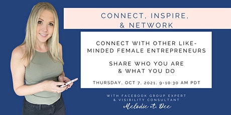 Connect, Inspire, & Network Online Networking Event tickets