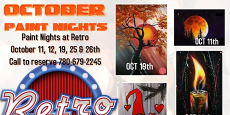 Oct 19th All ages Paint night Camrose tickets