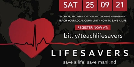 BIMA lifesavers - training day tickets