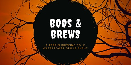 BOOS & BREWS WITH PERRIN BREWING CO. tickets