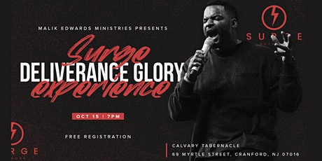 Surge Deliverance Glory  Experience tickets