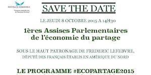 1ères Assises Parlementaires de l'économie du partage
