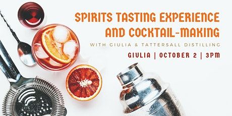 Spirits Tasting Experience & Cocktail-Making tickets
