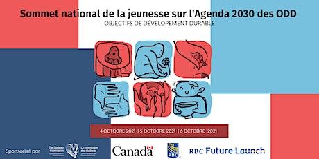 Sommet national de la jeunesse sur l'Agenda 2030 des ODD billets