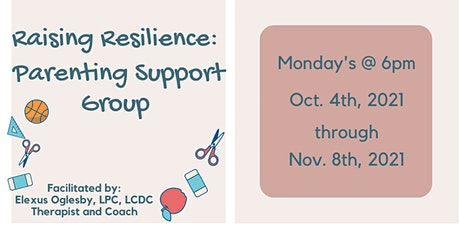 Raising Resilience: Parenting Support Group tickets