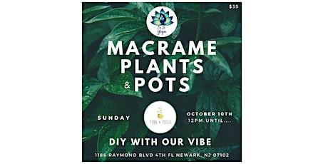 Macrame, Plants & Pots tickets