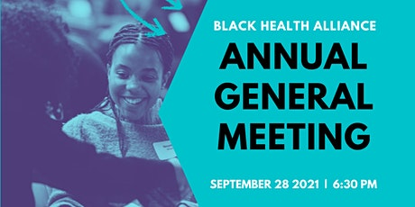 Black Health Alliance Annual General Meeting tickets