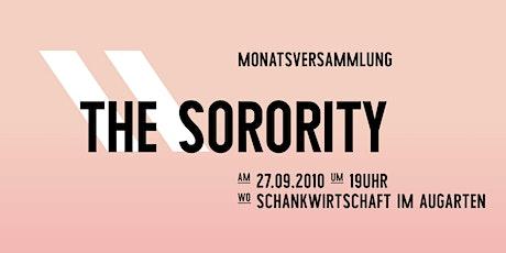 Sorority Monatsversammlung im September Tickets