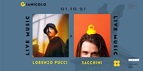 Lorenzo Pucci + Sacchini | Terrazza del Gianicolo biglietti