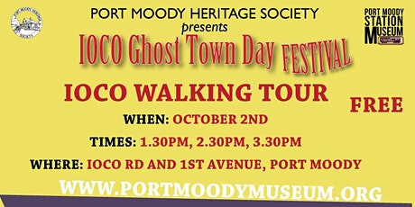 Ioco Ghost Town Day  Walking Tour 1:30 PM tickets