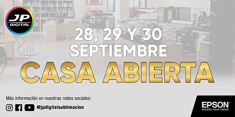 Casa Abierta JP Digital tickets