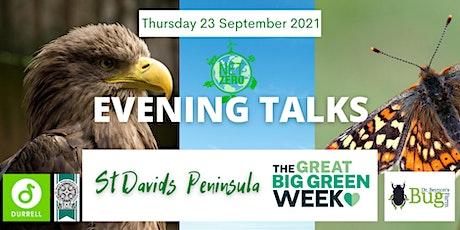St Davids Great Big Green Week - Evening Talk: 2 tickets