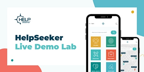 The HelpSeeker Live Demo Lab tickets
