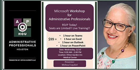Microsoft Workshop Houston Administrative Professionals  by: AP-H tickets