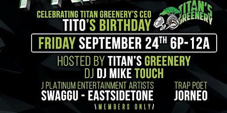 FRIDAZE: Titan's Greenery Bday Bash tickets