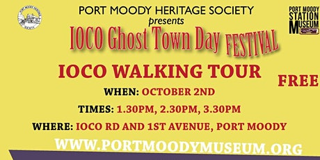Ioco Ghost Town Day Walking Tour 3:30PM tickets