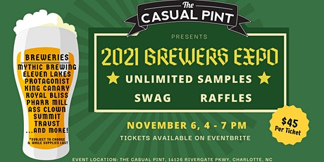 The Casual Pint Brewer's Expo 2021 tickets