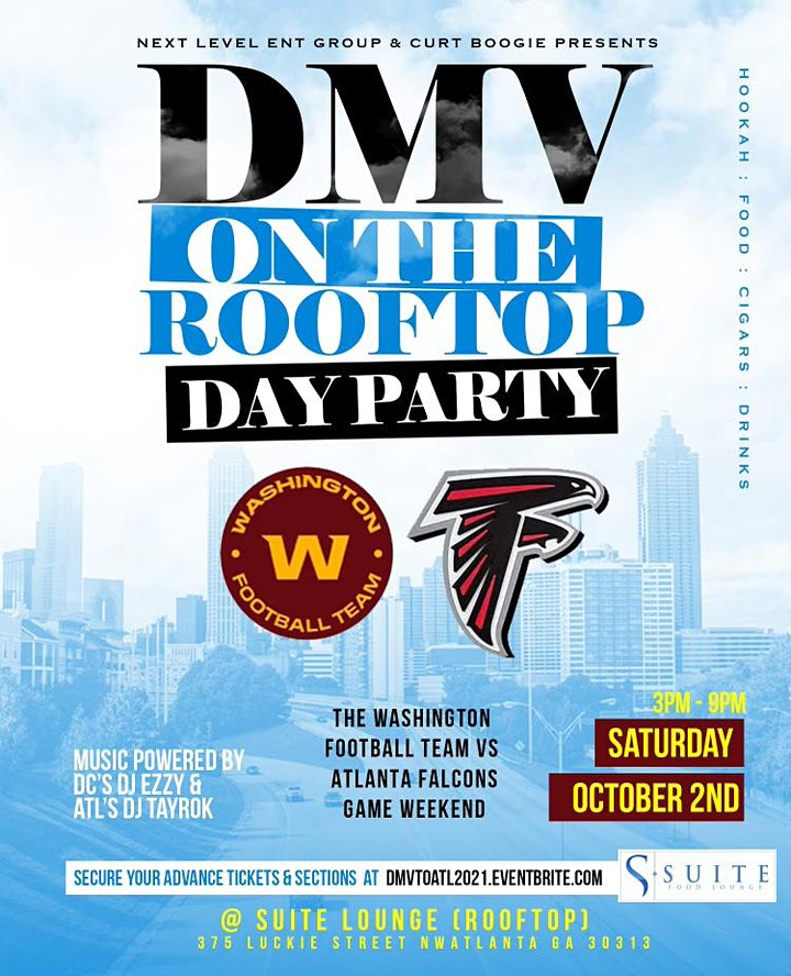 It's A Vibe - DMV to ATL Football Weekend Sunset Day Party Suite Lounge image