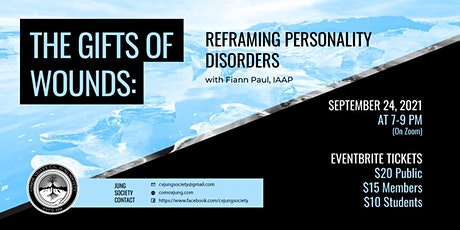 The Gifts of Wounds: Reframing Personality Disorders  with Fiann Paul tickets