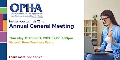 OPHA Annual General Meeting 2021 tickets