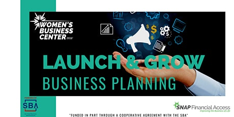 Business Planning to Launch & Grow tickets