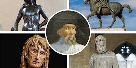 FREE WEBINAR | Italy's Great Artists: Donatello tickets