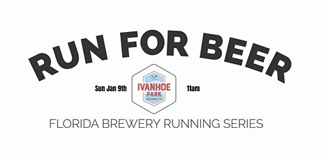 Beer Run - Ivanhoe Park Brewing Co | 2021-2022 FL Brewery Running Series tickets