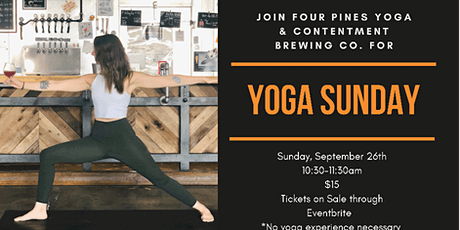 Yoga Sunday in the Taproom tickets