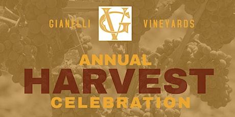 Gianelli Vineyards Harvest Party tickets
