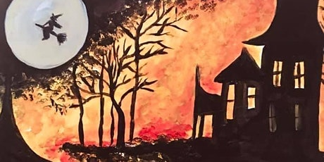 Haunted house paint party tickets