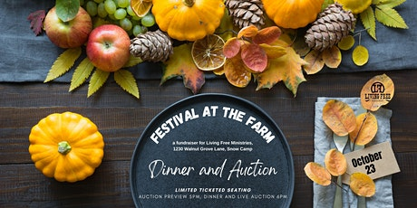 Festival at the Farm-Dinner and Live Auction tickets
