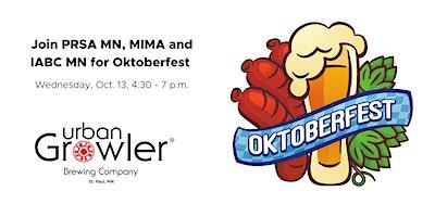 Oktoberfest with PRSA MN, MIMA and IABC MN
