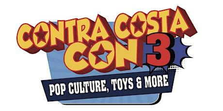 Contra Costa Con 3 tickets