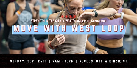 Move with West Loop   STRENGTH IN THE CITY tickets