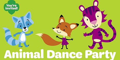 Girl Scouts Virtual Animal Dance party meet-up tickets
