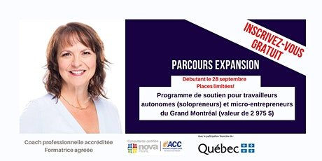 Parcours Expansion - Travailleur autonome(solopreneur)et micro-entrepreneur tickets